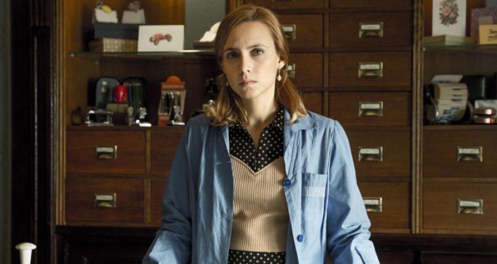 Aura Garrido gana el premio a Mejor intérprete femenina en ficción por la serie 'El día de mañana' de Movistar+