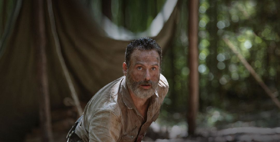 The Walking Dead despide a Rick Grimes.
