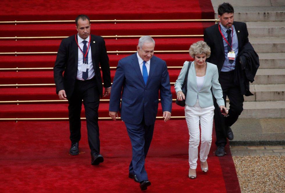 Primer ministro de Israel Benjamin Netanyahu