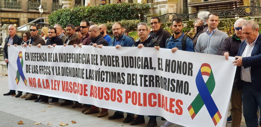 Resultado de imagen de ley vasca de victimas de abusos policiales