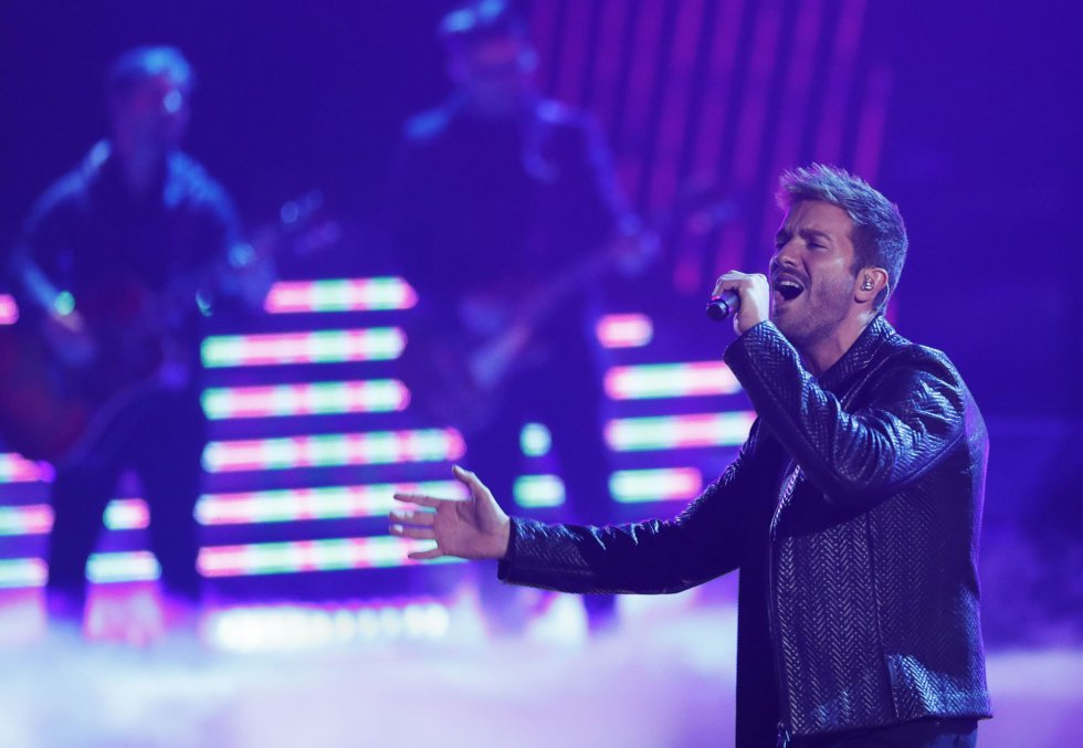 Actuación de Pablo Alborán.