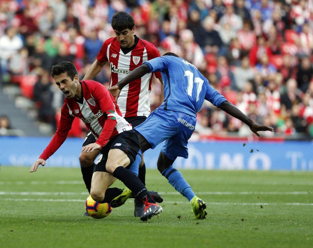 Athletic Getafe Liga  El Athletic sigue en descenso  1846a42a034f6