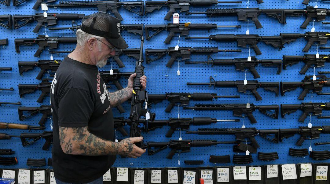 La venta de armas durante el 'Black Friday' desciende por primera vez en EEUU desde 2014 | Internacional | Cadena SER