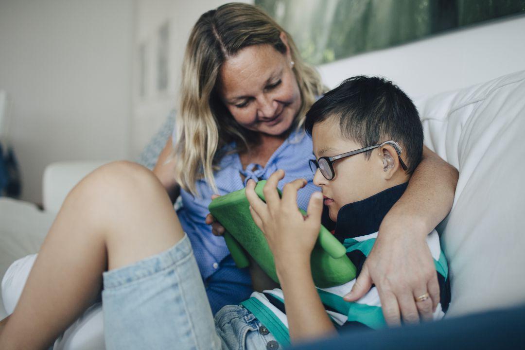 Resultado de imagen para vivienda hijos con discapacidad intelectual