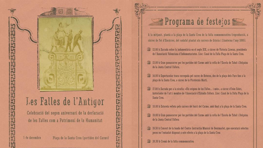 Dos años de patrimonio de la Humanidad de las Fallas 0b2c914005da6