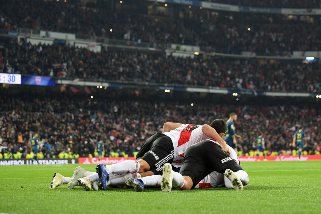 Goles final Libertadores: Así te hemos contado la histórica final de la Libertadores del Bernabéu | Deportes | Fútbol | Cadena SER