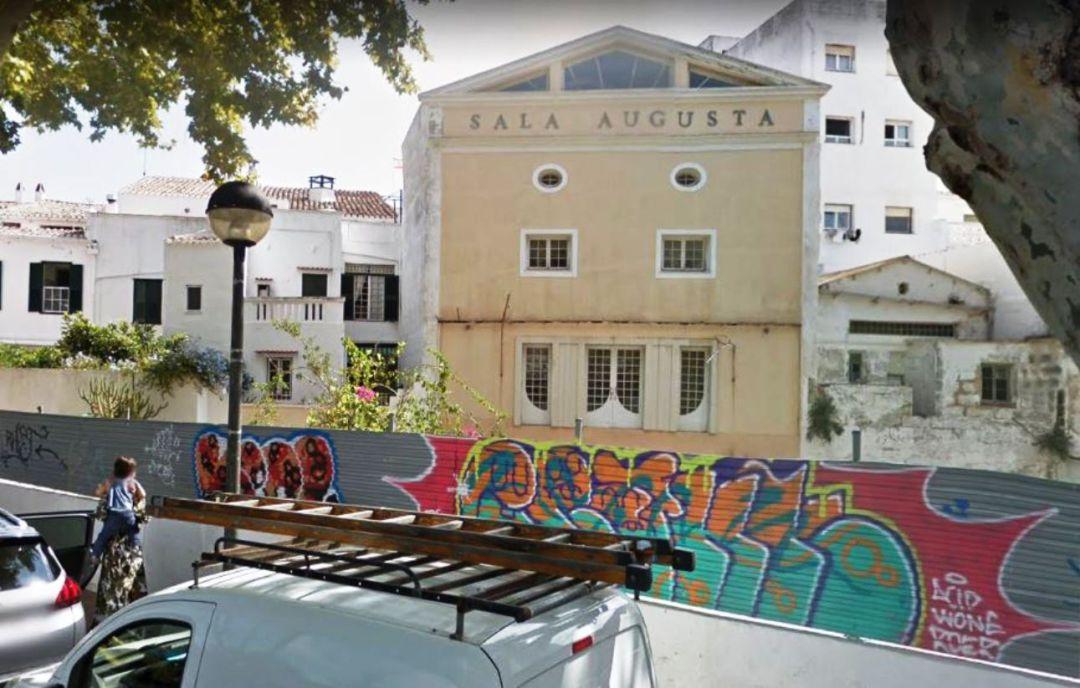 El proyecto de conversión de la Sala Augusta de Maó en Conservatorio de Menorca ha salido a exposición pública