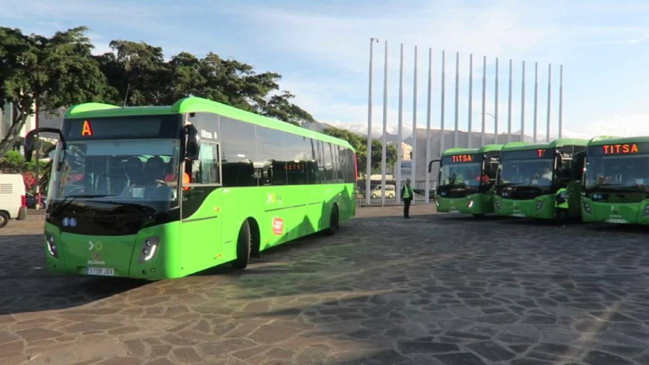 Titsa: El Cabildo de Tenerife reordena la red norte de guaguas ...