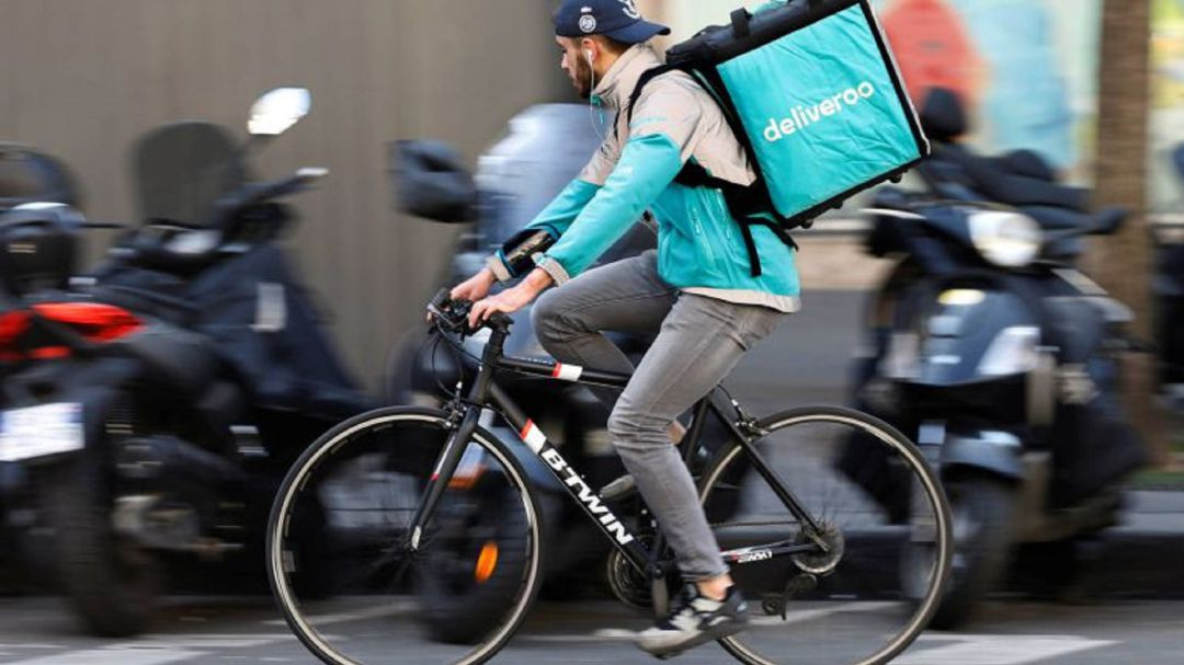 Repartidor de Deliveroo (archivo)