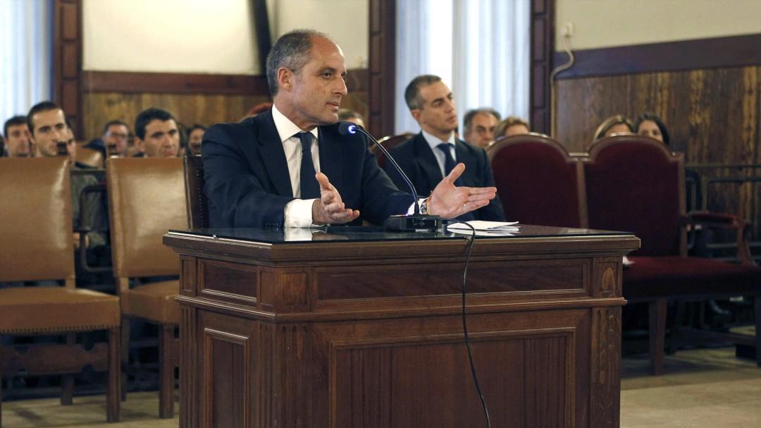 El juez imputa a Francisco Camps en el caso Gürtel