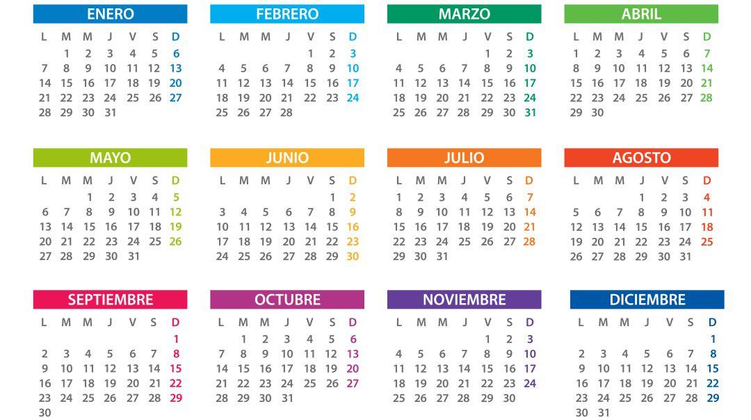 Calendario Julio 2019 Para Imprimir.Calendario Laboral De Castilla La Mancha Para 2019 Ser