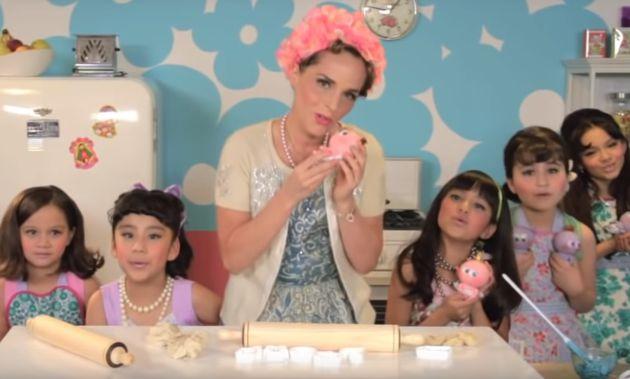 Una de las imágenes de un vídeo promocional.