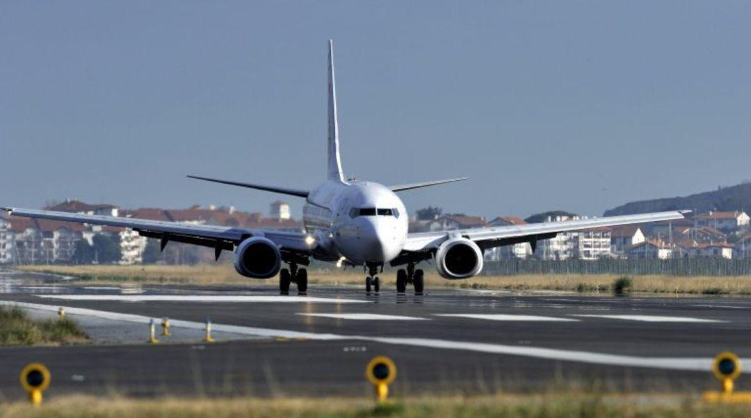 Imagen de archivo del aeropuerto de Hondarribia.