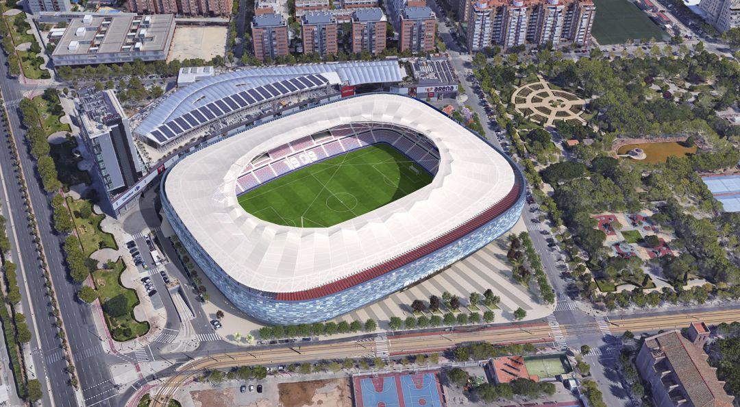 Levante Ud El Estadio Del Levante Estrenara Una Nueva Cubierta El