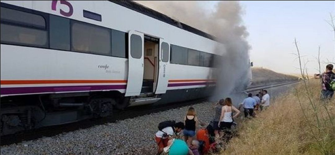 El tren de los retrasos y las averías
