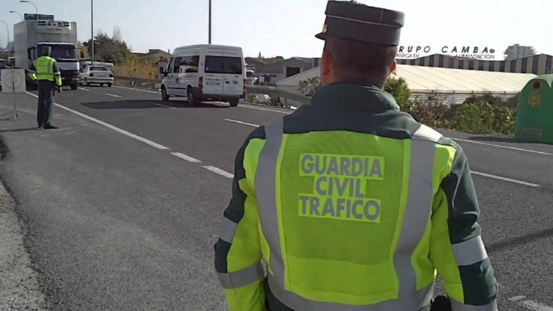 Guardia Civil de tráfico.