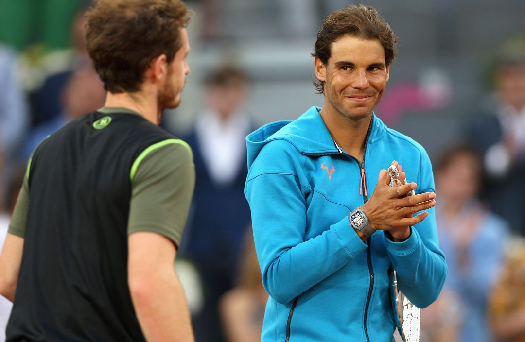 Andy Murray y Rafa Nadal