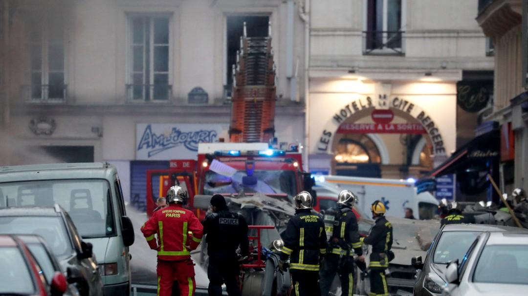 Muere una mujer española por la explosión de gas en París