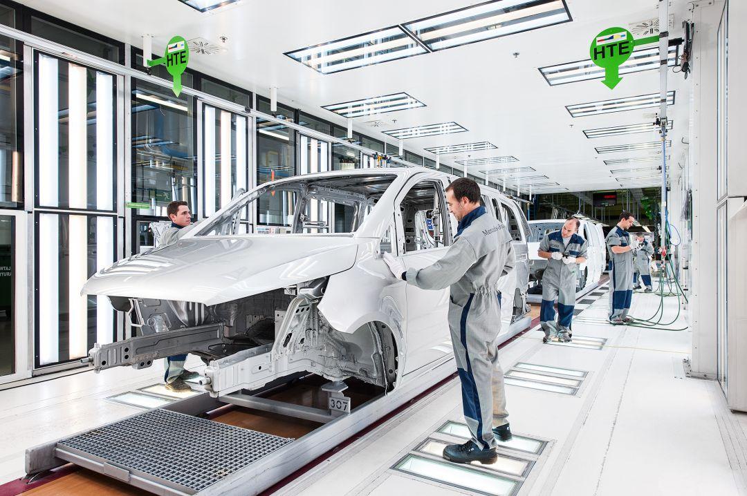 Mercedes Parará Tres Días En Febrero Para Reducir Su Producción En