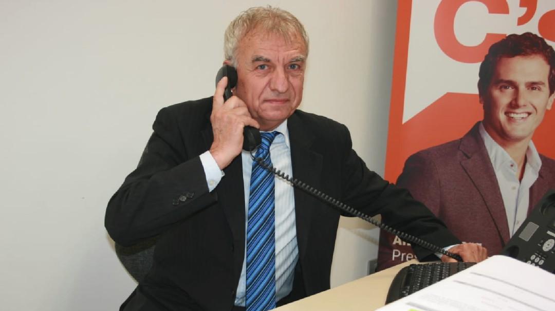Ciudadanos crea una gestora en Almassora tras la renuncia del coordinador local Xavier Vinyals