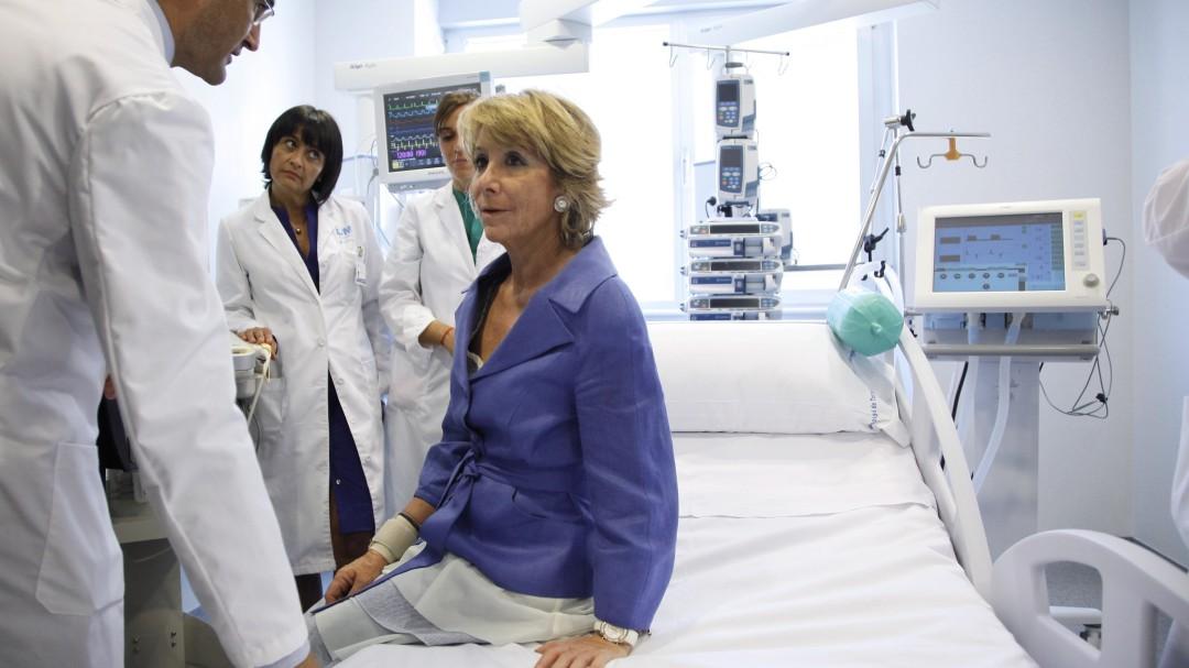 La Fiscalía Anticorrupción investiga el sobrecoste de los hospitales de Aguirre