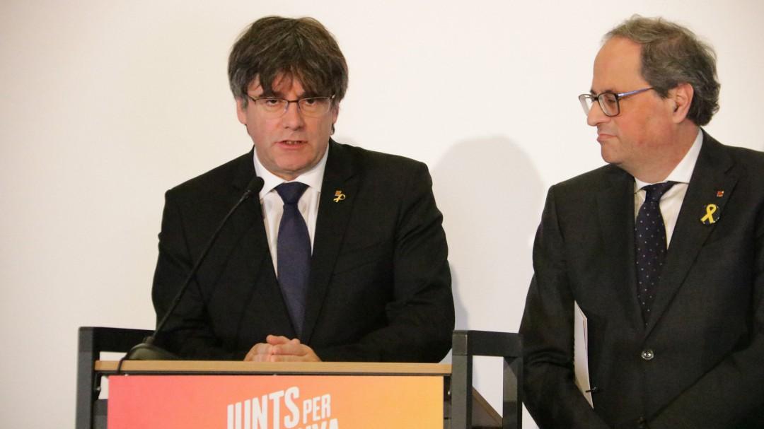 Puigdemont lleva a Torrent y la mesa del Parlament ante el Constitucional