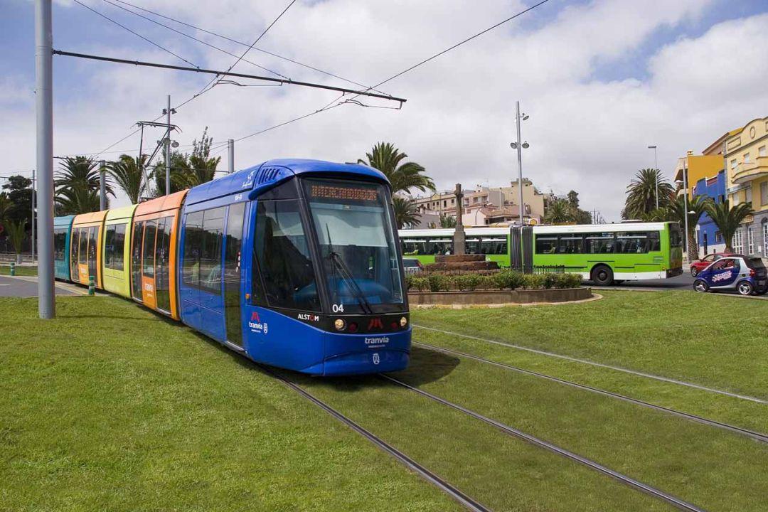 Los trabajadores del tranvía de Tenerife mantienen la huelga parcial en abril