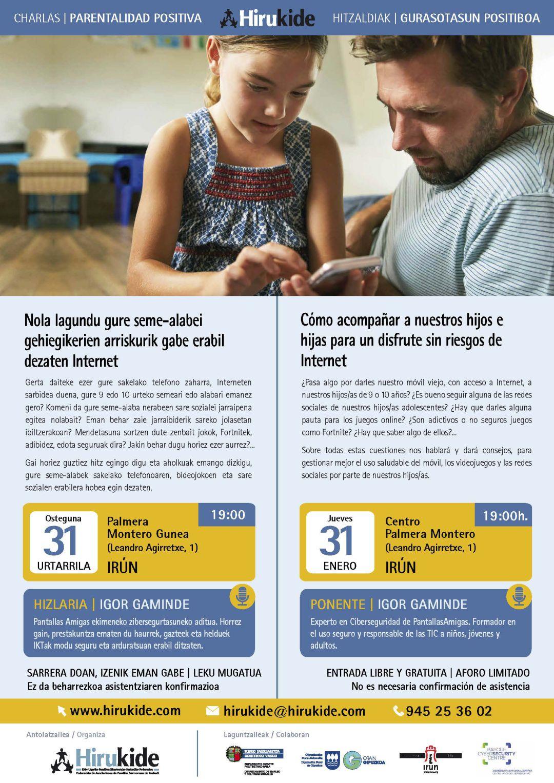 Objetivo: evitar los riesgos en Internet a los menores