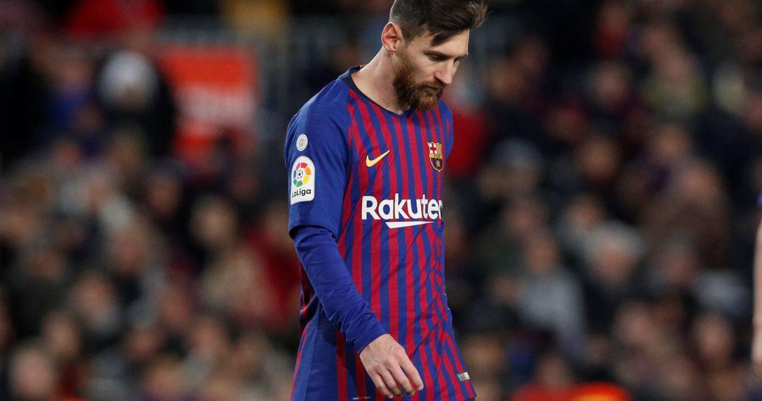 1bbcecbcc0c5 Leo Messi hace trabajo de recuperación a 48 horas del Clásico de la ...