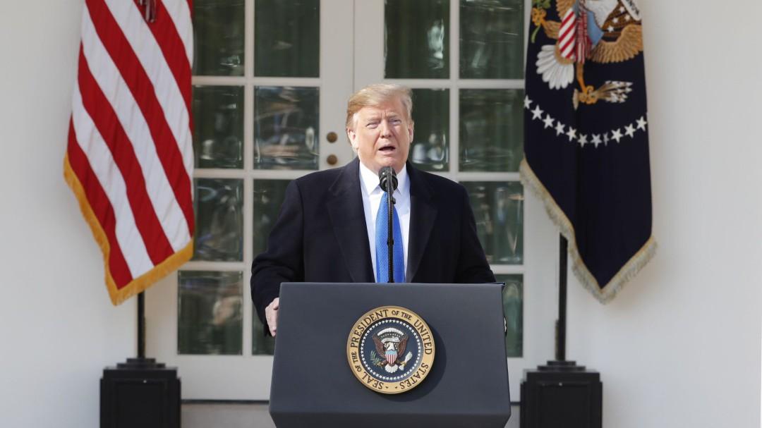 """Trump declara la """"emergencia nacional"""" para poder construir el muro fronterizo con México"""