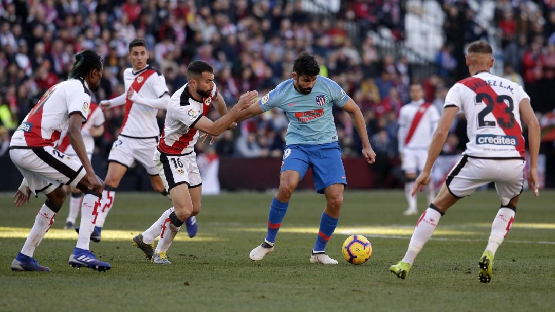 El Rayo recuerda al Atlético su tweet de la polémica sobre el VAR