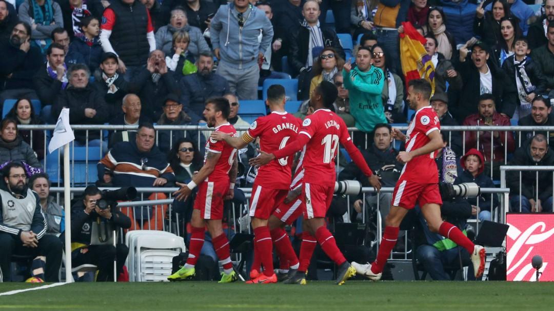 El Madrid se duerme y el Girona remonta el el Bernabéu