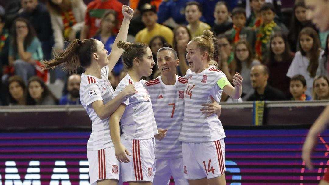 La selección española gana el primer Europeo de fútbol sala femenino de la historia
