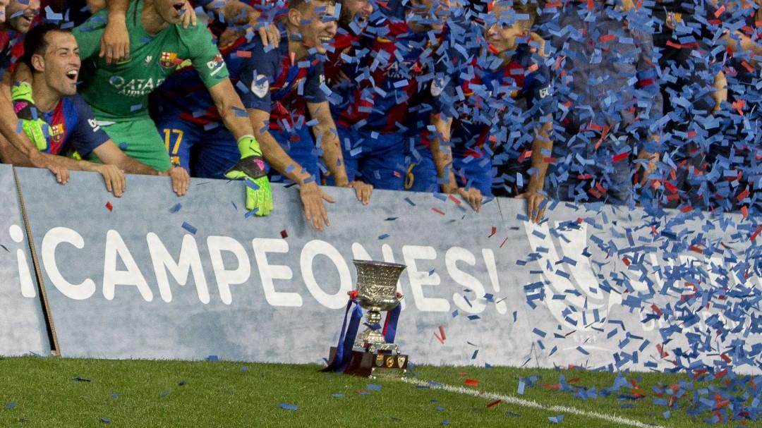 Rubiales anuncia un formato Final Four para la Supercopa de España