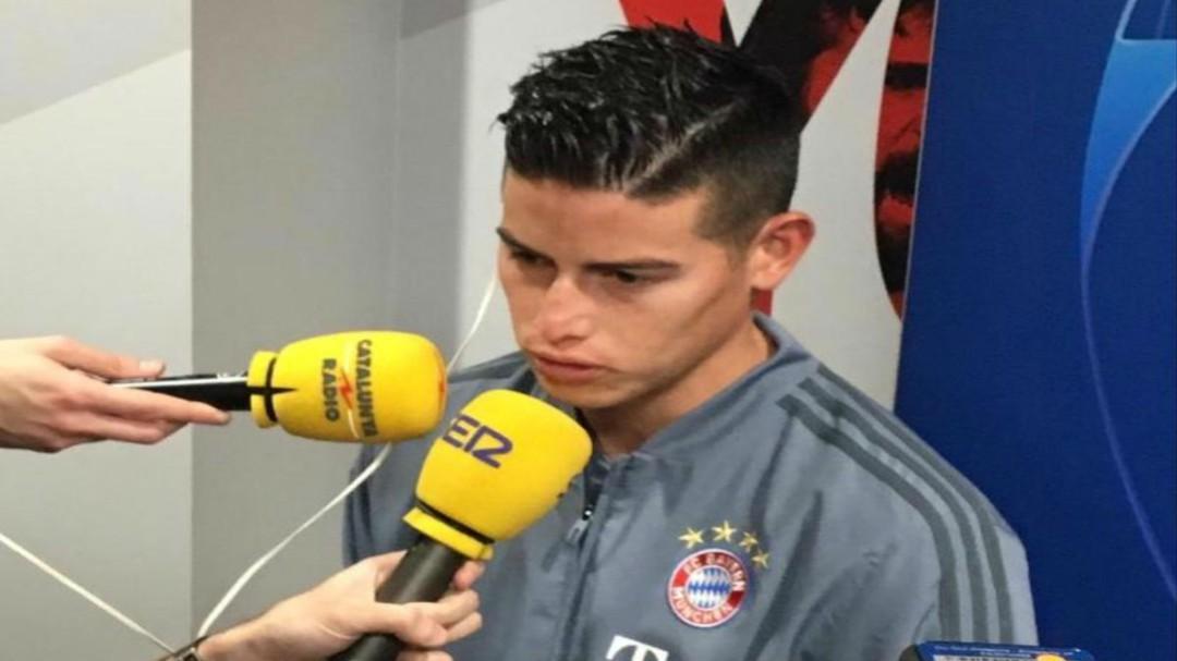 """James: """"En Madrid tengo todo: casa, gente que me quiere, ya veremos"""""""