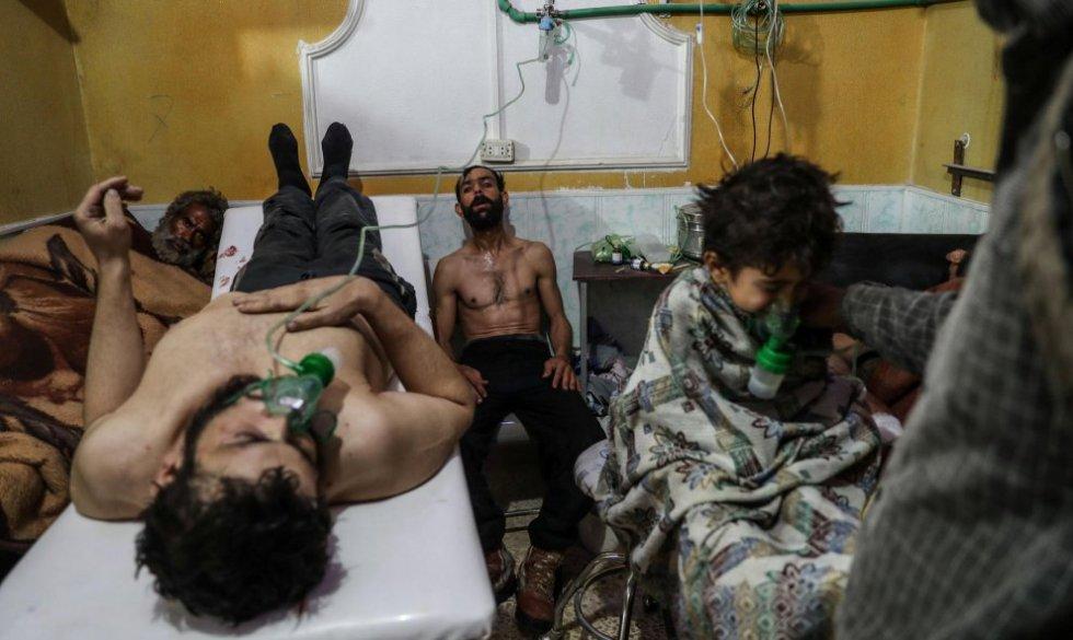 Las consecuencias de un supuesto ataque químico en la guerra de Siria.