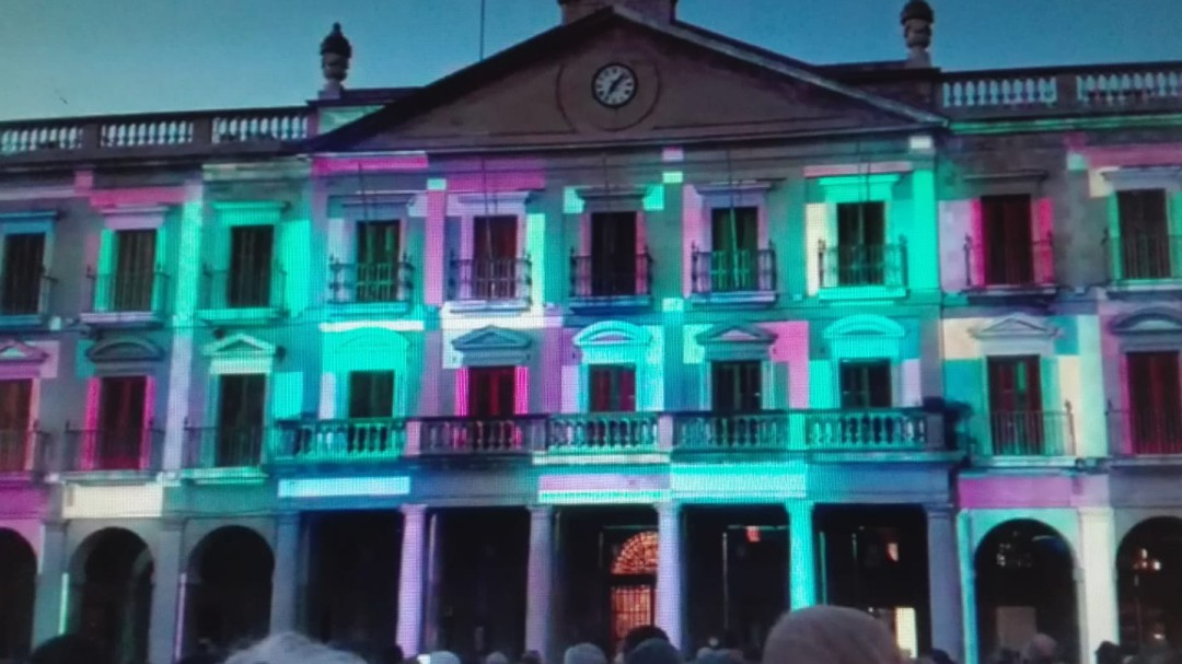 Video: estrenamos el Umbral Light Festival de Vitoria-Gasteiz