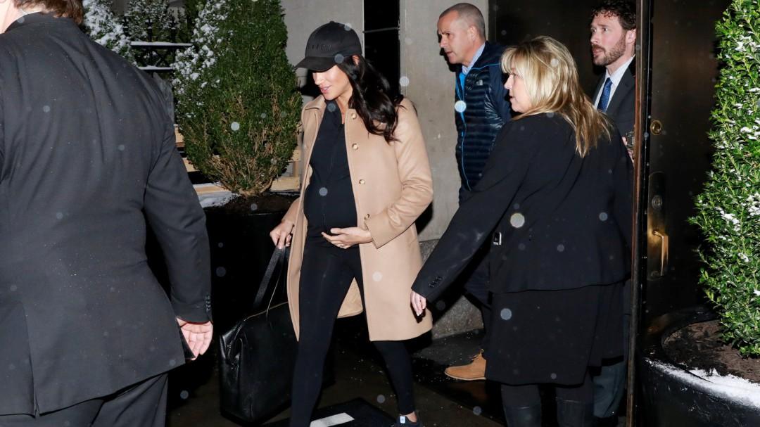 La lujosa 'baby shower' de Meghan Markle en Nueva York no ha gustado a los británicos