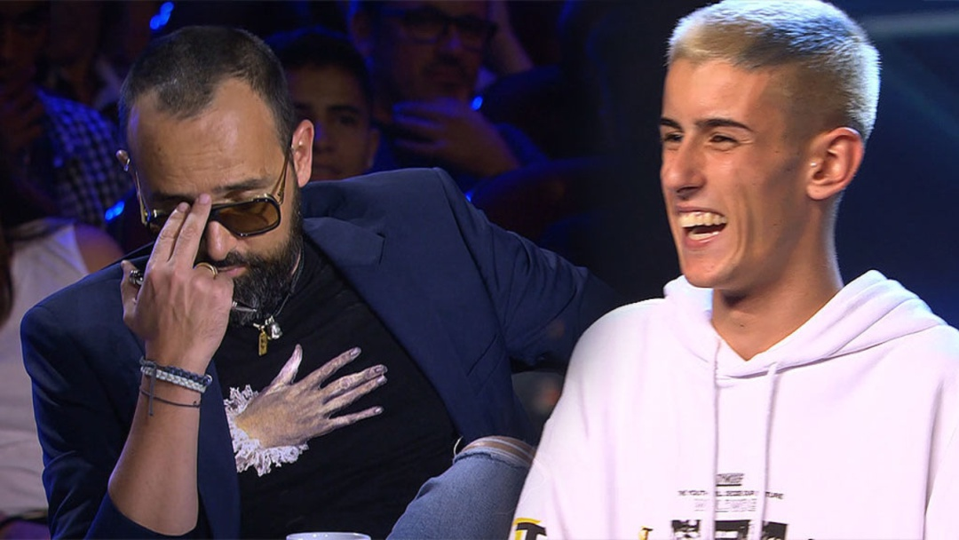 El Cejas triunfa en 'Got Talent'
