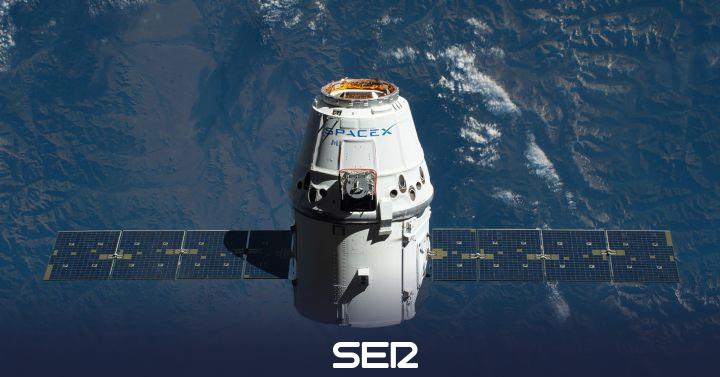 Despega la primera cápsula de Elon Musk que llevará a turistas al espacio
