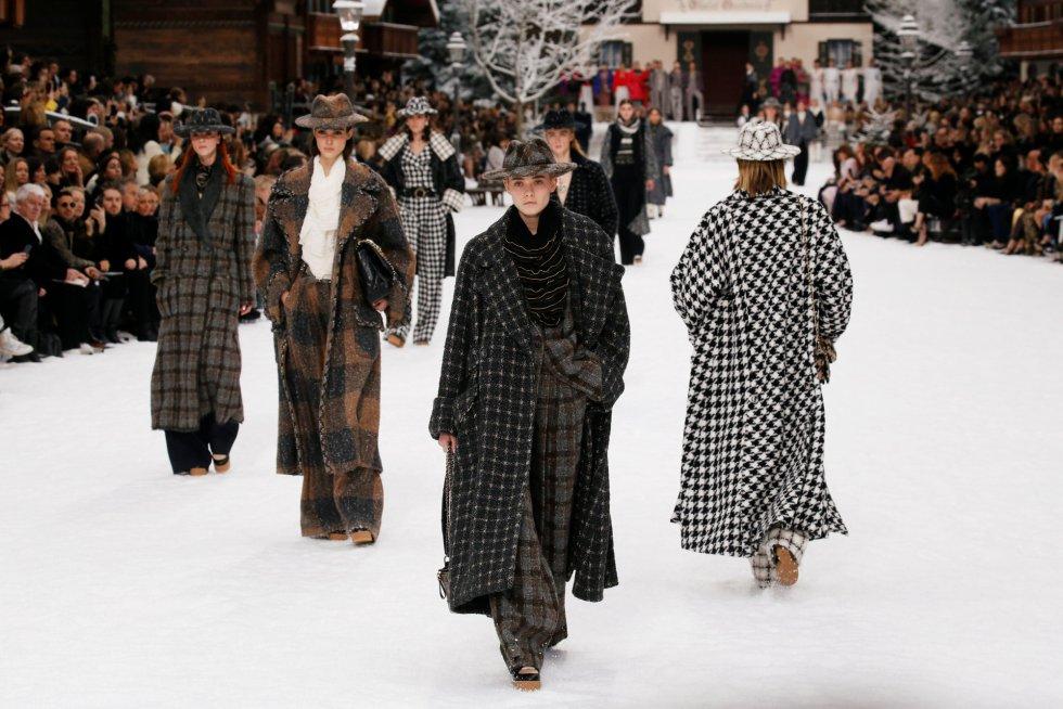 La última colección de Lagerfeld para Chanel