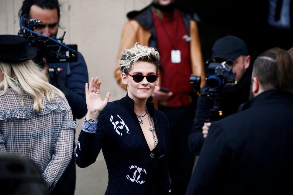 Kristen Stewart a su llegada al desfile
