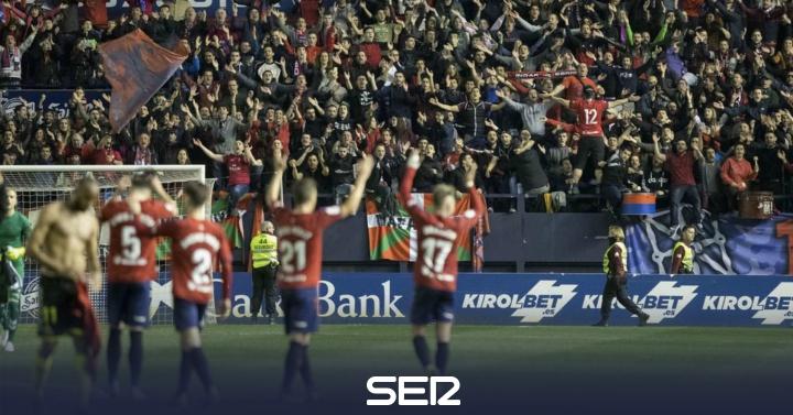 Osasuna abre hueco en la cabeza y el Almería sueña con el play off