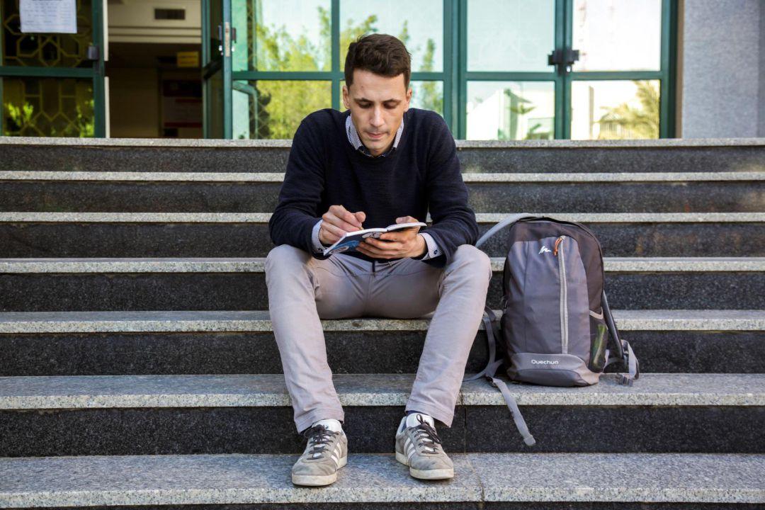 e75e4651757 La vida del único Erasmus que estudia en la Franja de Gaza ...