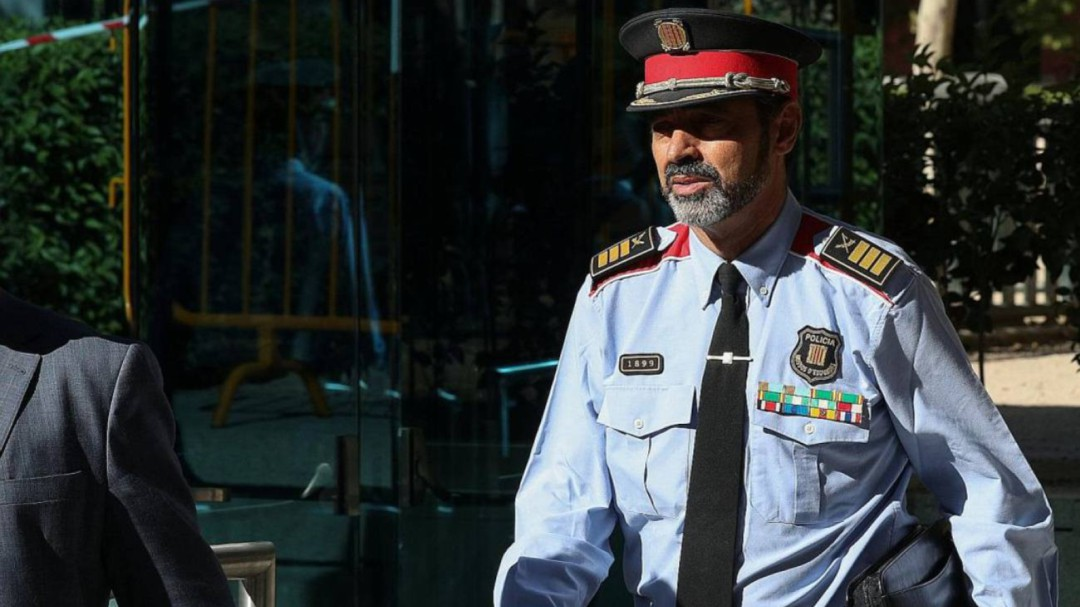 La Audiencia Nacional absuelve al 'major' Josep Lluís Trapero