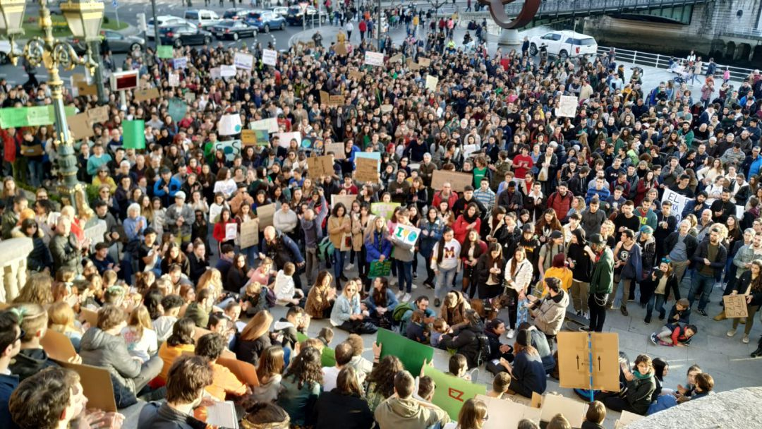 'Fridays for Future' llega a Bilbao