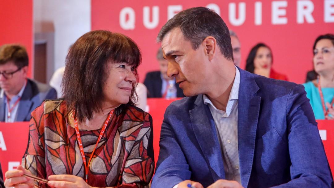 """Sánchez garantiza que con el PSOE """"nunca habrá independencia"""" en Cataluña"""