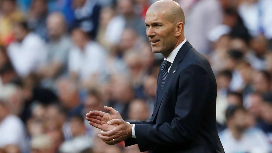 El mensaje de Zidane sobre la portería del Real Madrid