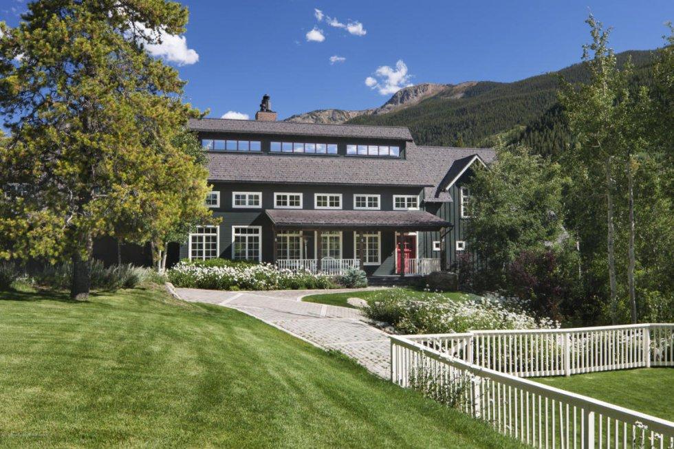 Así es el rancho de Kevin Costner situado en Aspen (Colorado).