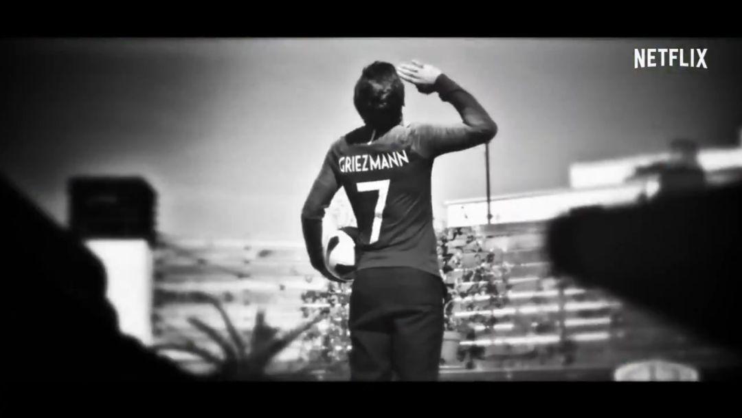 """Griezmann, en el documental de Netflix sobre su vida: """"Amo a ..."""